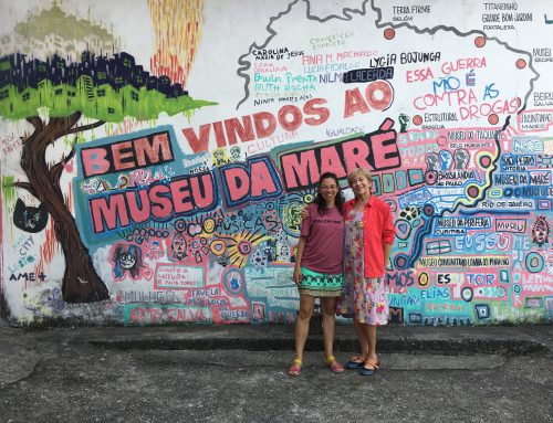 President and Founder of the Mega-Cities Project visits Complexo da Maré