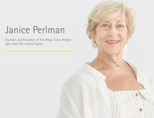 "Janice Perlman Appears on Norman Foster Foundation Seminar ""ON CITIES"" podcast"
